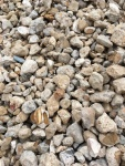 White Decorative Pea Gravel