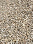White Decorative Rock Pea Size